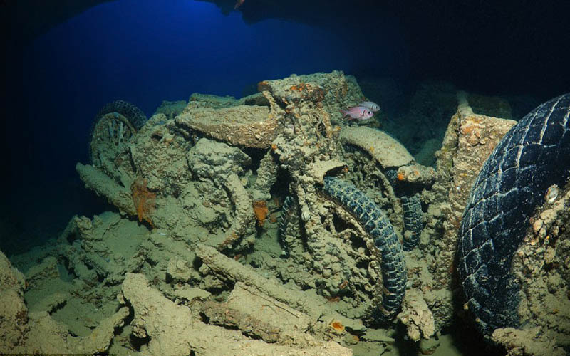 The wreck of SS Thistlegorm